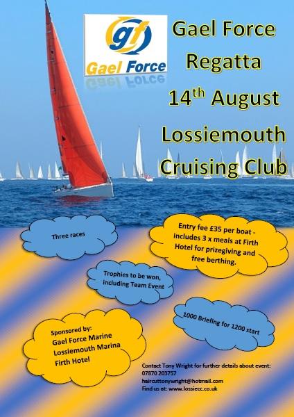 Gaelforce Regatta at Lossiemouth Marina 2021